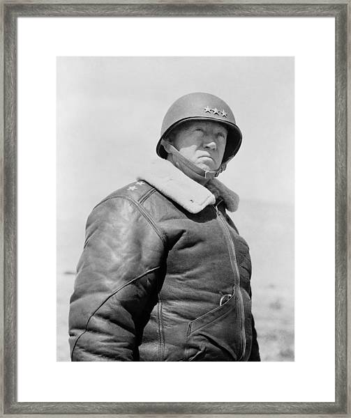 General George S. Patton Framed Print