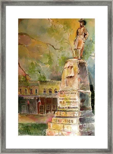 General Granbury Framed Print