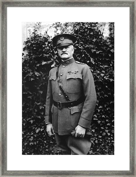 General John J. Pershing Framed Print