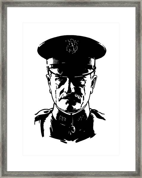General John Pershing Framed Print