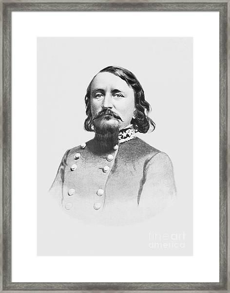 General Pickett - Csa Framed Print