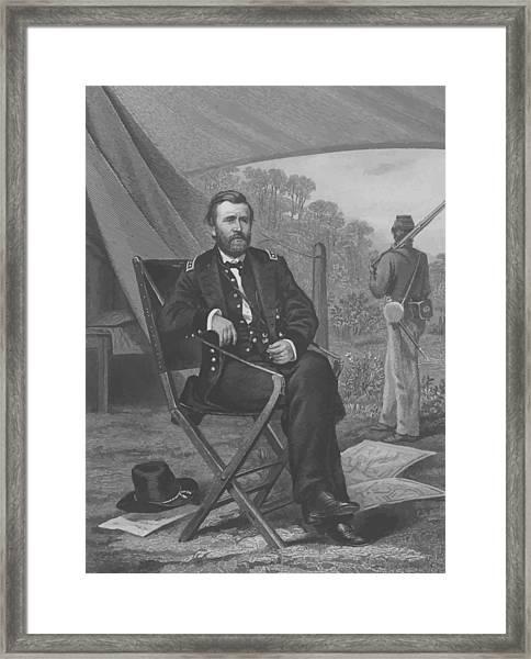 General U.s. Grant Framed Print