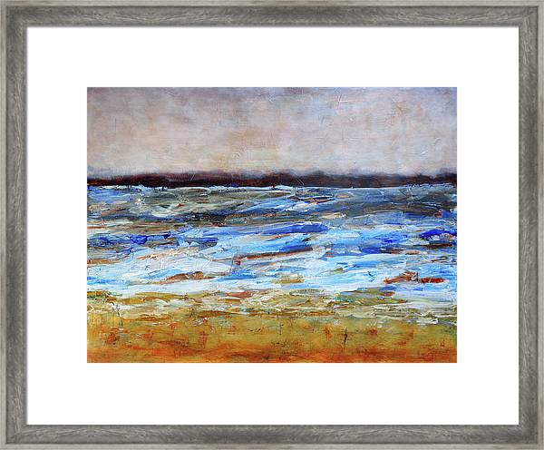 Generations Abstract Landscape Framed Print