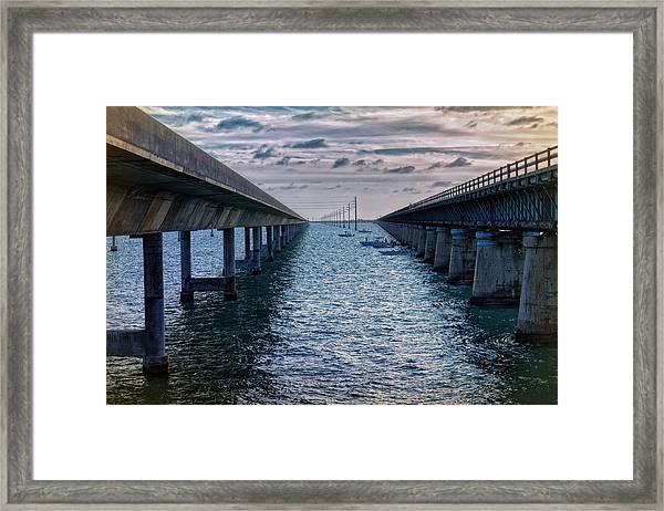 Generations Of Bridges Framed Print