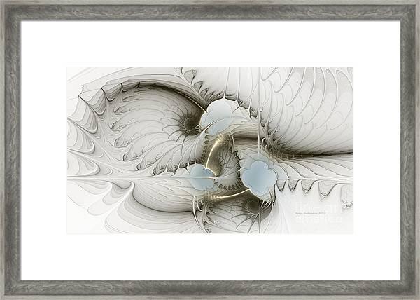 Gentle Hints Framed Print