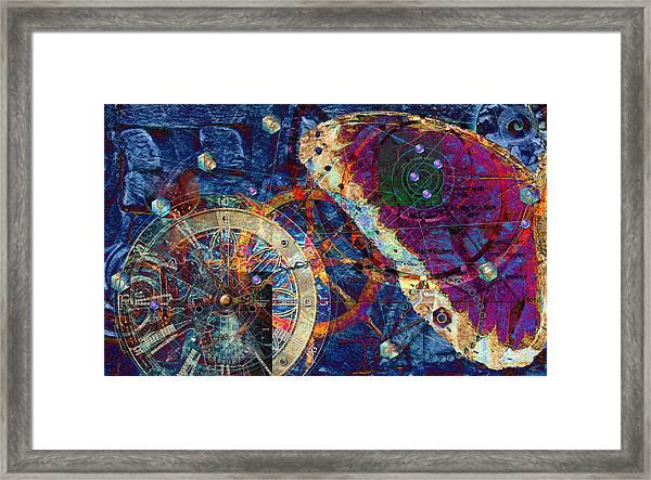 Geometria Sagrada Framed Print