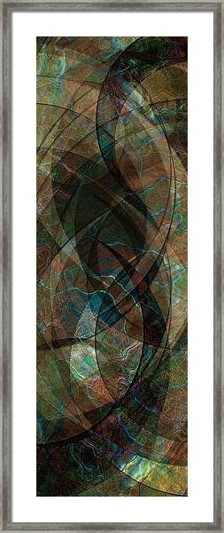 Geometry Of Chance IIi Framed Print