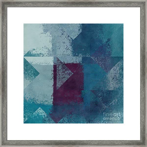 Geomix 03 - S122bt2a Framed Print