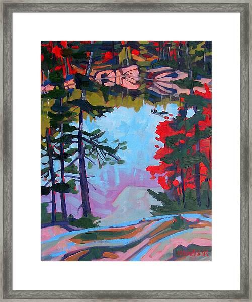 George Lake East Basin Framed Print