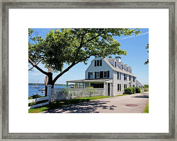 George Walton House In Newcastle Framed Print