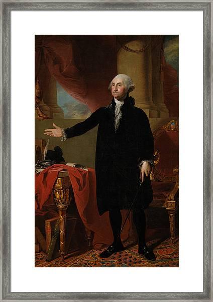 George Washington Lansdowne Portrait Framed Print