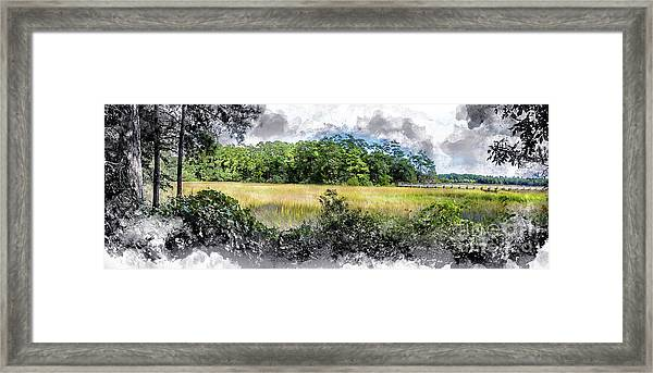 George Washington Trail Framed Print