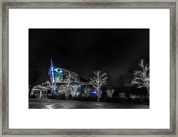 Georgia Aquarium Framed Print