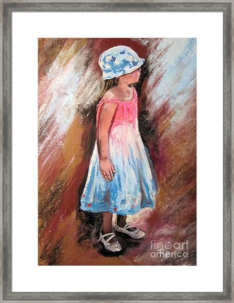 Georgia No. 1. Framed Print