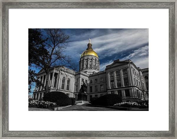 Georgia State Capital Framed Print