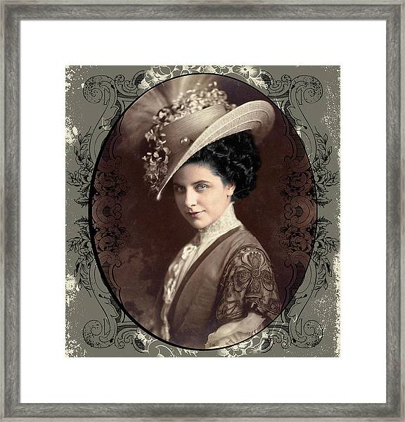Geraldine Farrar Framed Print