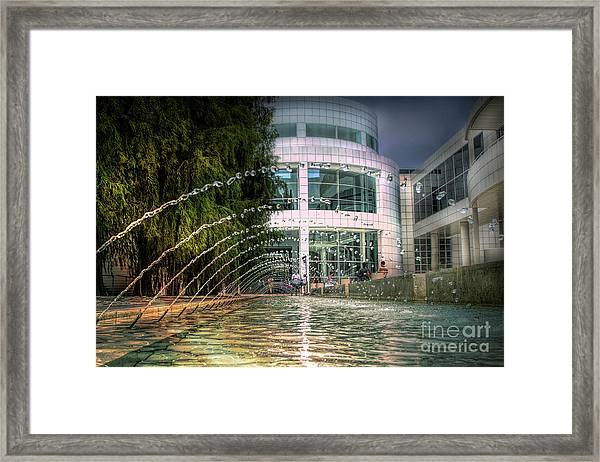 Getty Architecture Museum Los Angeles California  Framed Print