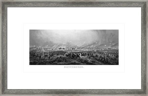 Gettysburg Framed Print