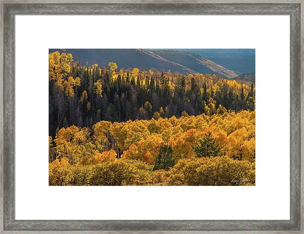 Geyser Pass Road, La Sal Mountains Framed Print