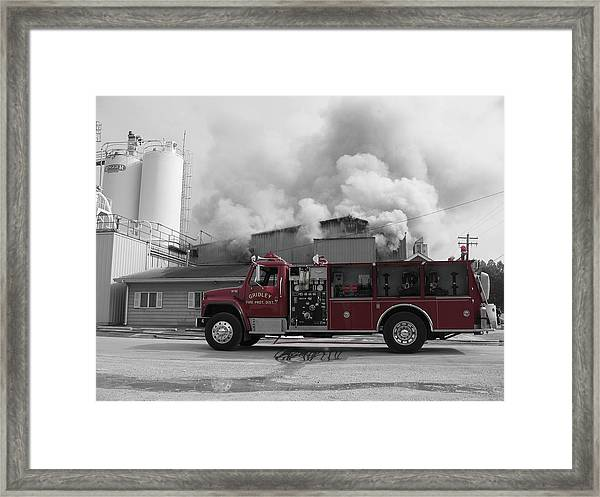 Framed Print featuring the photograph G.f.d. by Dylan Punke