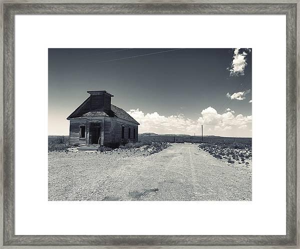 Ghost Church Framed Print