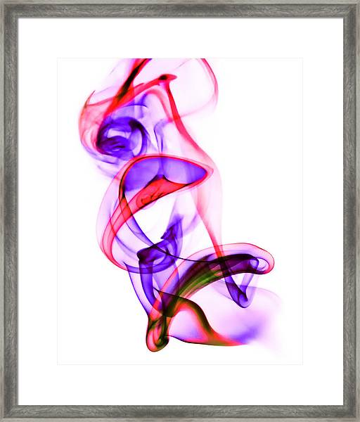 Ghost Invert 1 Framed Print