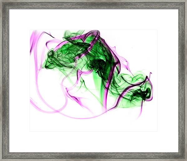 Ghost Invert 2 Framed Print