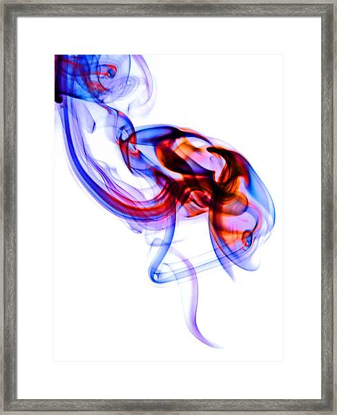 Ghost Invert 3 Framed Print