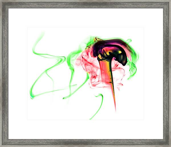 Ghost Invert 4 Framed Print