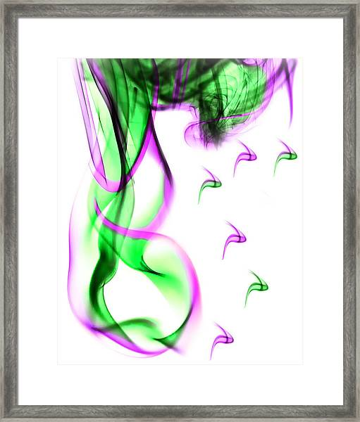Ghost Invert 5 Framed Print