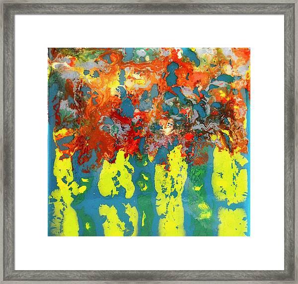 Ghost Tree Framed Print