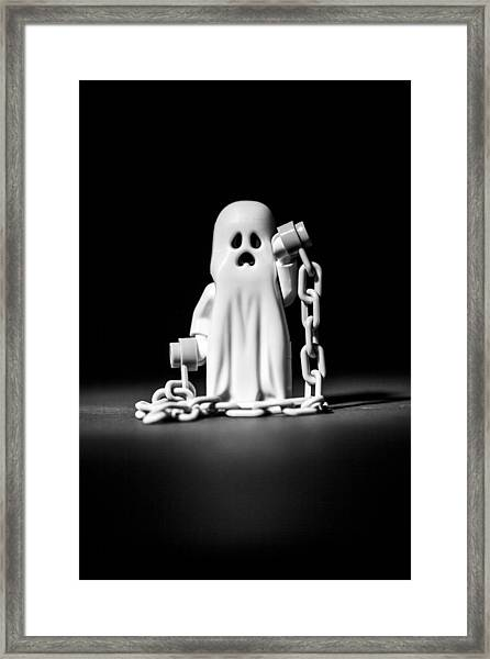 Ghostly Framed Print