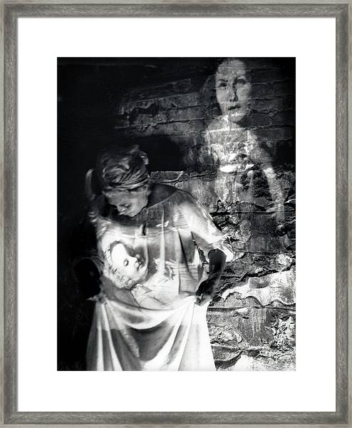 Ghosts Colonial 1 Framed Print