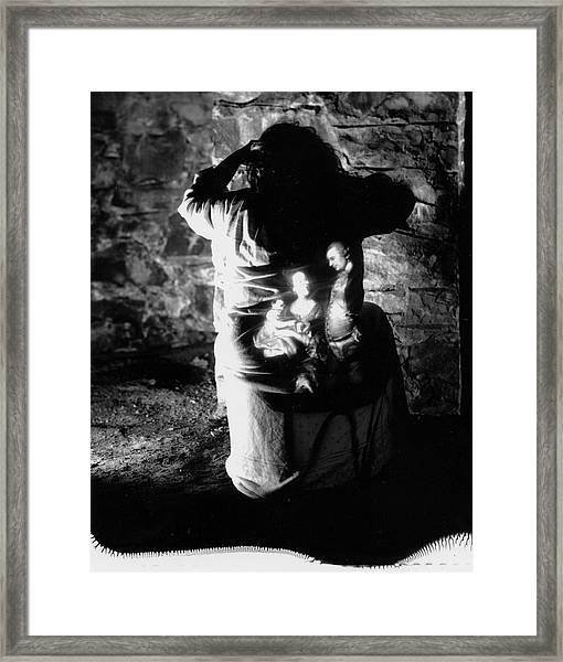 Ghosts Colonial 3 Framed Print