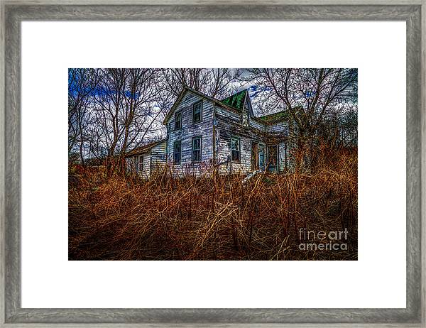 Ghosts Of The Past Framed Print
