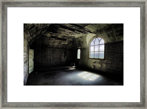 Ghosts Remain Framed Print