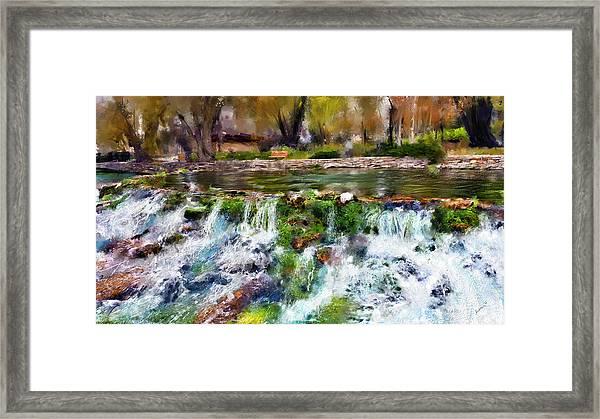 Giant Springs 1 Framed Print