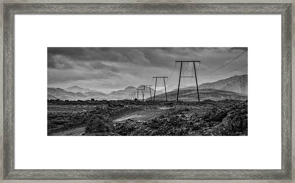 Giant Steps Are What You Take Framed Print