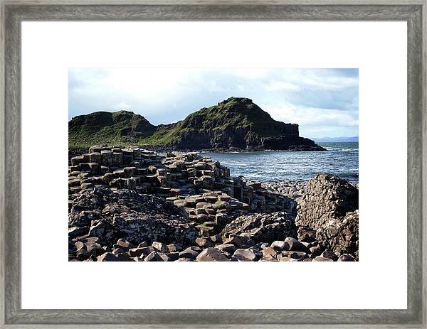 Giant's Causeway, Northern Ireland. Framed Print