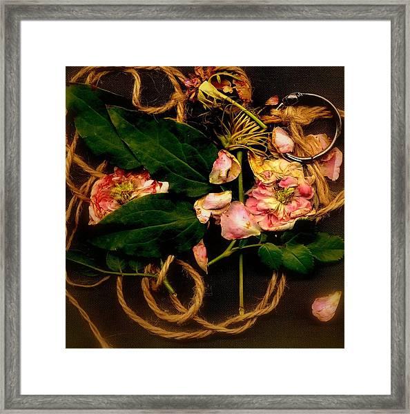 Giardino Romantico Framed Print