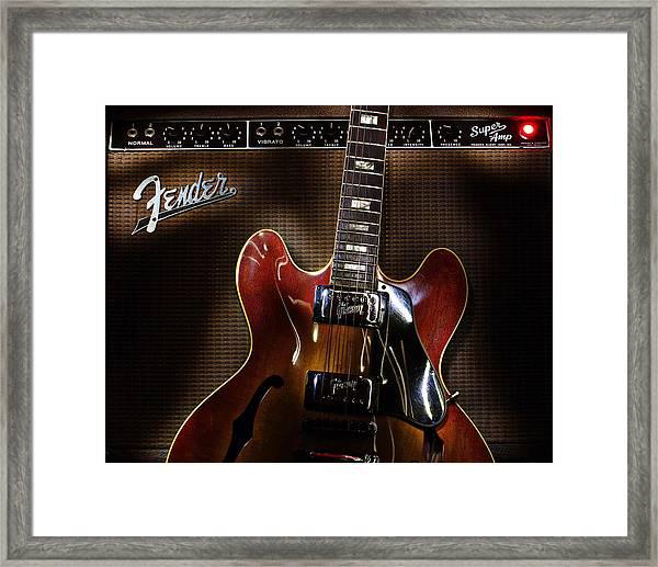 Gibson 335 Framed Print