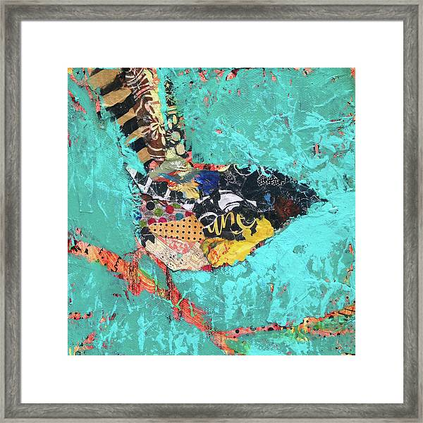 Framed Print featuring the painting Gigi by Shelli Walters