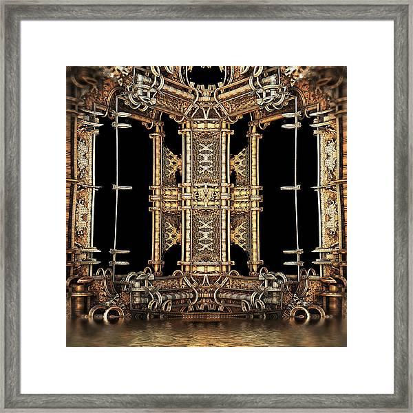 Gilded Bathhouse Framed Print