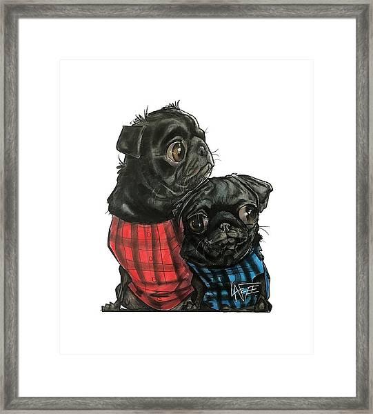 Giles 3540 Framed Print