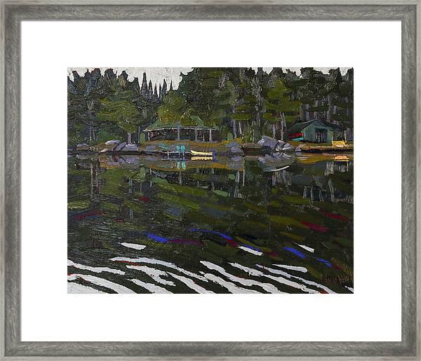Gilmour Island Framed Print