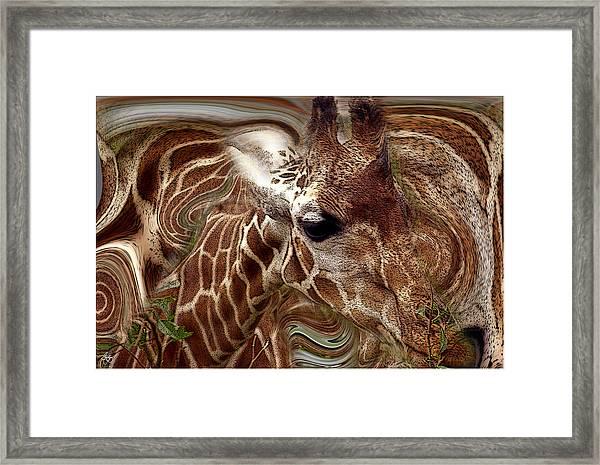 Giraffe Dreams No. 1 Framed Print