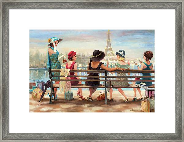 Girls Day Out Framed Print