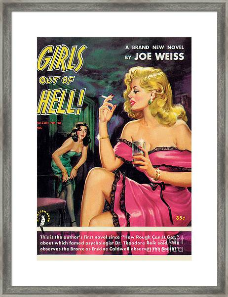 Girls Out Of Hell Framed Print