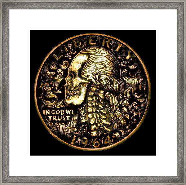 Give Me Liberty Or Give Me Death Framed Print