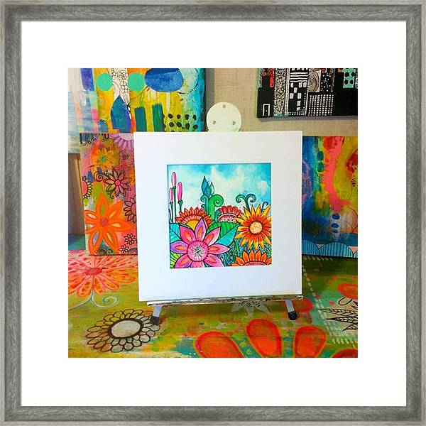 #giveaway On My Fb Today At Robin Framed Print